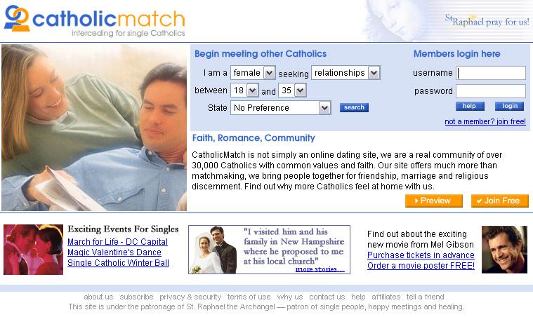 Catholic christian dating online